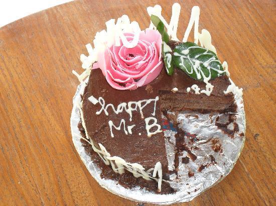 Birthday Cake. - Picture of Komaneka at Tanggayuda, Ubud - TripAdvisor