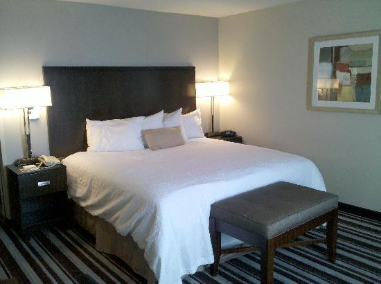 Hampton Inn & Suites San Diego-Poway: King Bedroom
