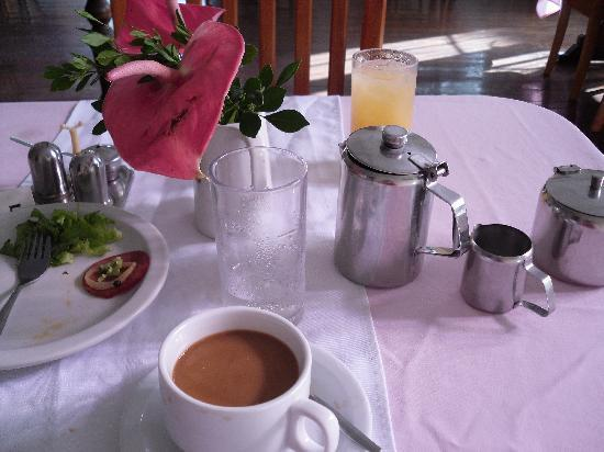 Pax Guest House: My first breakfast there :)