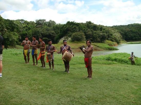 Gamboa, Panama: Welcoming commitee