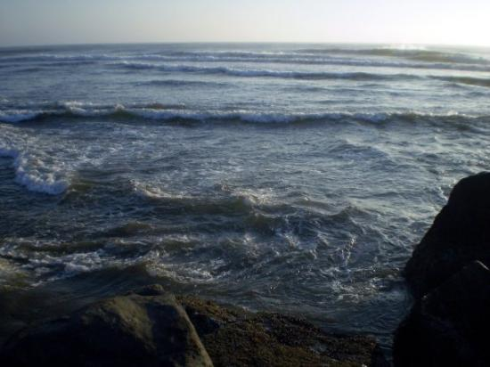 Winchester Bay waves