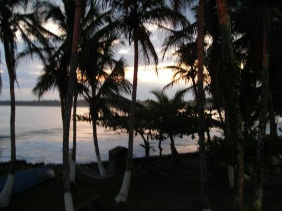 Cahuita, Costa Rica: sun coming up... our last day here