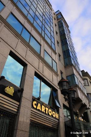 Cartoon Hotel: Exterior..