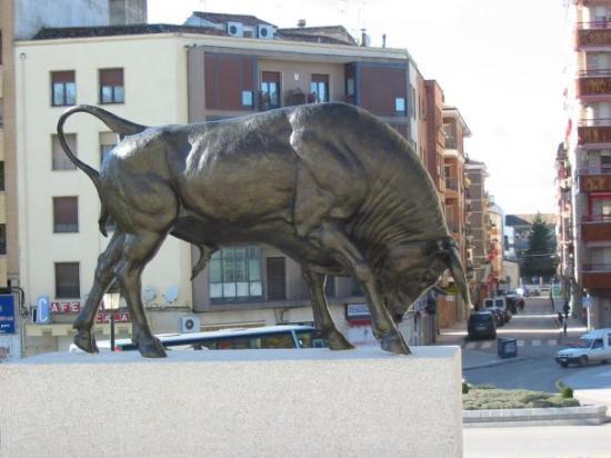 Linares de Ribadesella, España: El toro bravo.