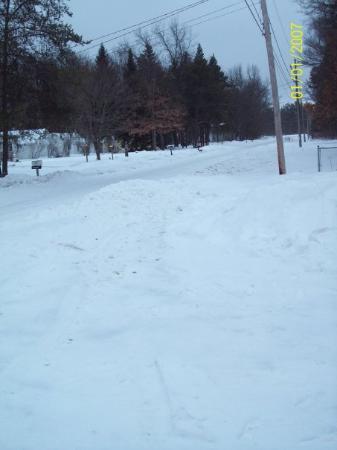 Harrison, MI: looking down the road