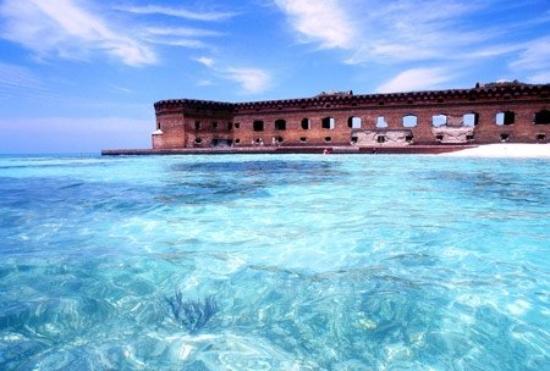 Dry Tortugas National Park, FL: Fort Jefferson island off the keys