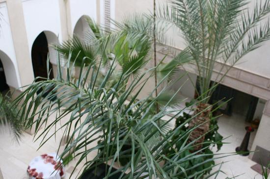 Riad Due: central courtyard