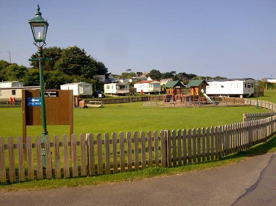 North Morte Farm Caravan & Camping Park : Children's play park