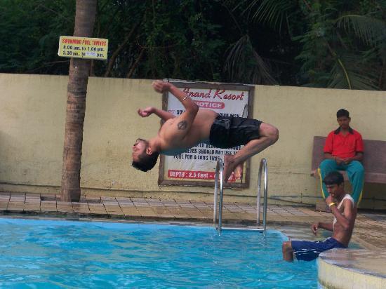 Arnala, India: Pool