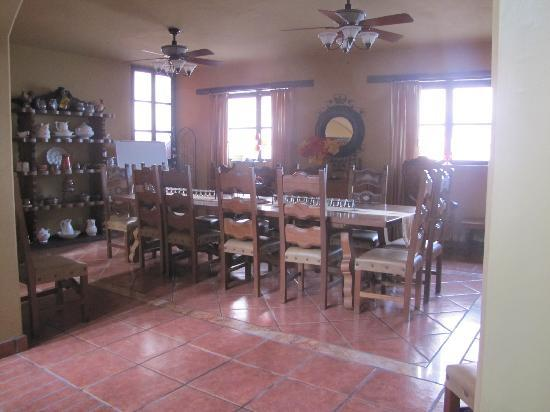 Casa de Leyendas: Dinining room where classes are held