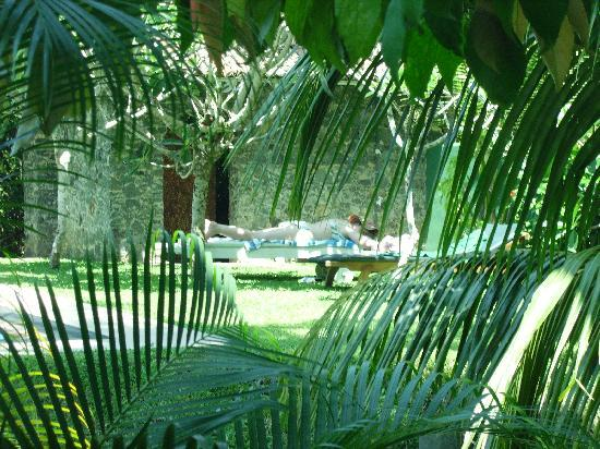 Shangri-Lanka Villa: view from our room