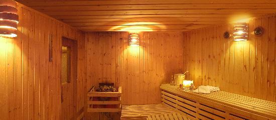 La Grange : Sauna