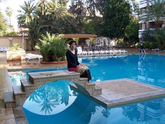 Hotel Amine Pool Area