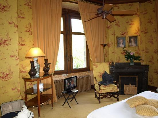 Molitg-les-Bains, ฝรั่งเศส: chambre aubépine