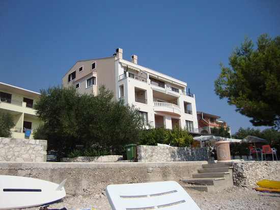 Picture of Villa Andrea taken from the beach