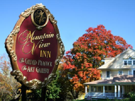 Mountain View Inn: Fall Foliage