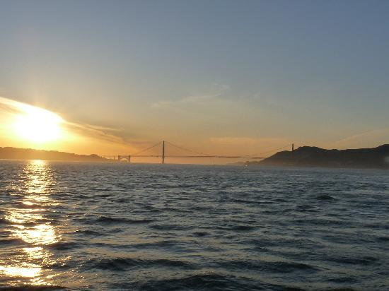 San Francisco, Kaliforniya: sunset