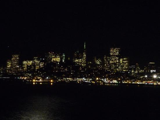 San Francisco skyline from Alcatraz