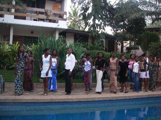 Hotel Napoleon Lagune: C'est vivant l'Afrique !