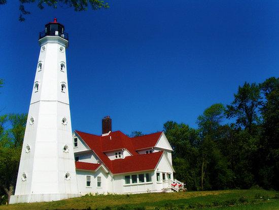 North Point Lighthouse  Milwaukee