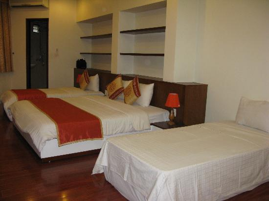 Hanoi Serenity Hotel: The triple room