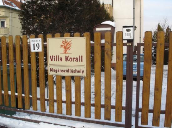 Villa Korall: Pension Korall
