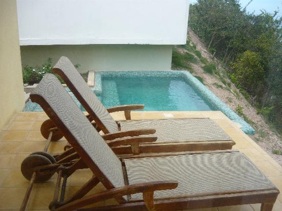 Playa Medina, Venezuela: Piscina en la villa