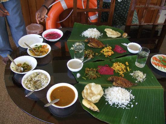 Gowri Residence: The first feast!