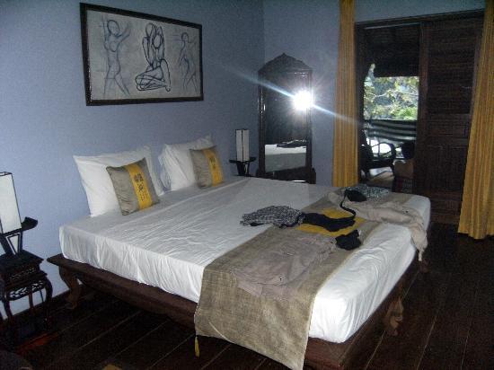 La Palmeraie d'Angkor: vue d'une chambre