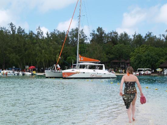 Preskil Beach Resort: Hotels boat trip - well worth it.