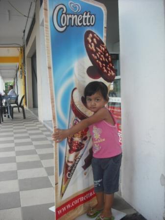 Lumut, Malásia: ini saya punyer.....dont.....dont....dont....