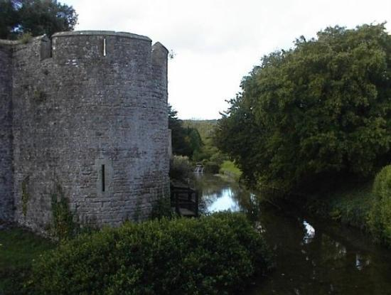 Bishops Castle In Wells Actually Has A Moat Around It