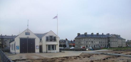 Beaumaris Lifeboat Station.... sponsored by Blue Peter