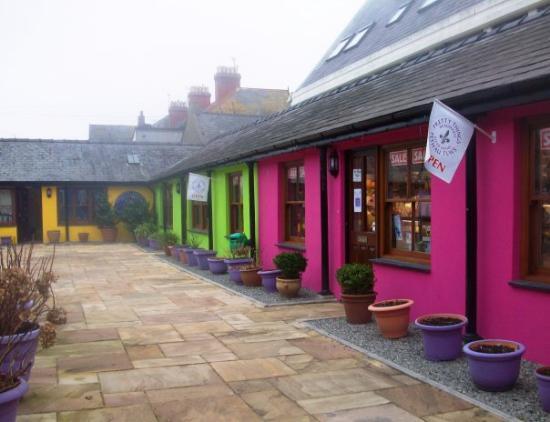 Beaumaris, UK: Craft shop in Beaumaris