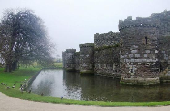 Beaumaris Castle - the last one built by Edward 1