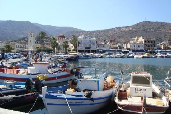 Sissi, Grecia: The town of Elounda