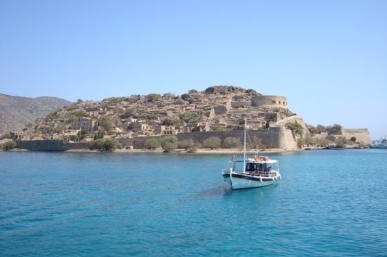 "Sissi, Grecia: The Island of Spinalonga. There's a novel about it... oddly enough called ""The Island"""