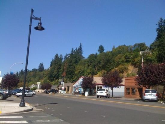 Where Was Twilight Filmed the town where twilight was filmed - picture of forks, washington