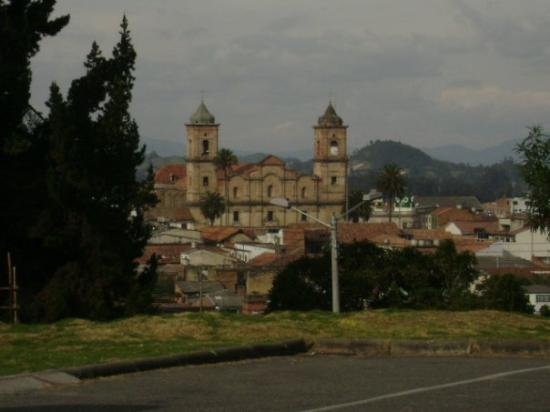 Overlooking the town of Zipaquira