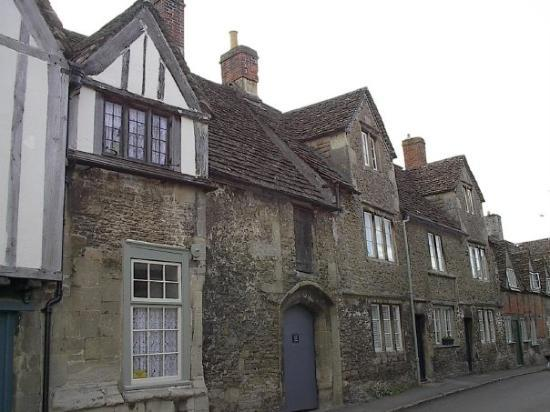 16th century village of Lacock. Where a good bit of the Jane Austin movies were filmed.