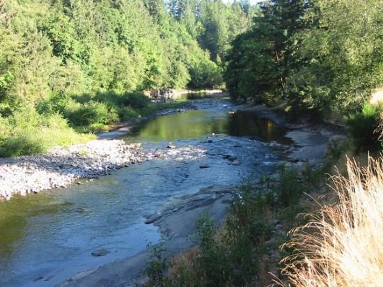 Siletz River,Moonshine Park, Siletz OR