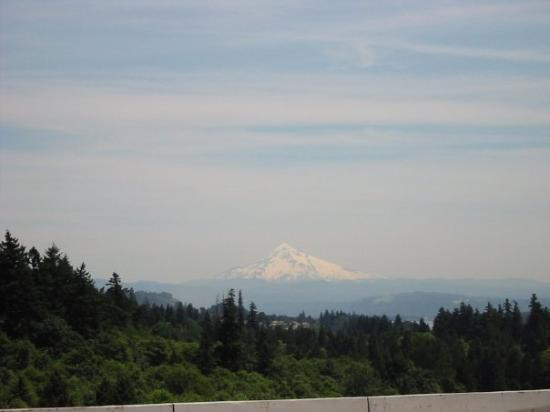 Mt Hood, view from Vancouver WA