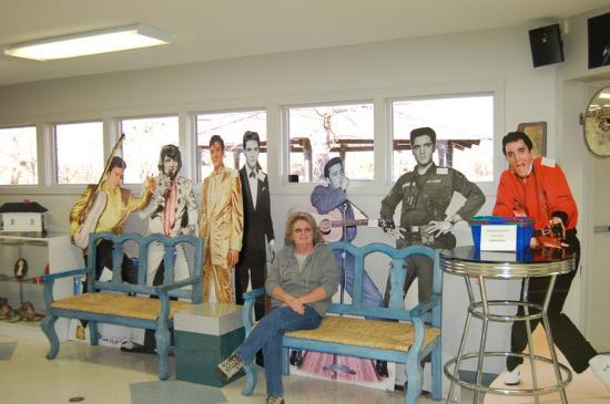 Elvis Presley Birth place. Tupelo, Miss. Thats me with Elvis.
