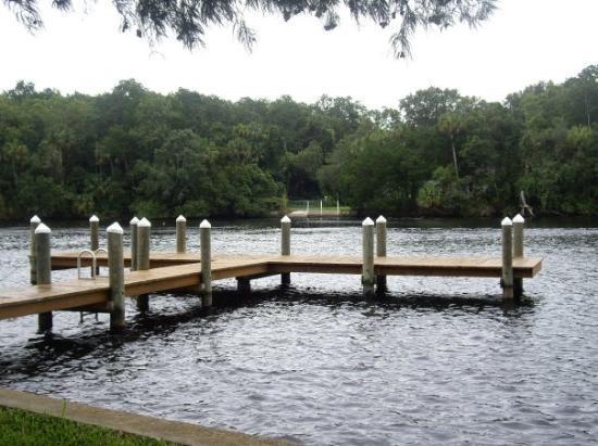 Homosassa Springs, FL: on river in Homosassa