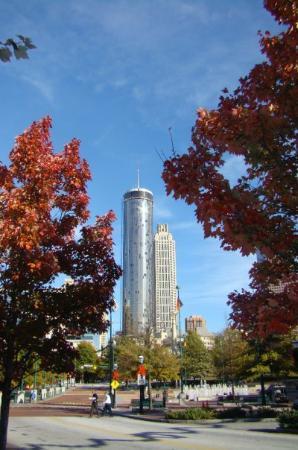 The Westin Peachtree Plaza: 66th floor baby!
