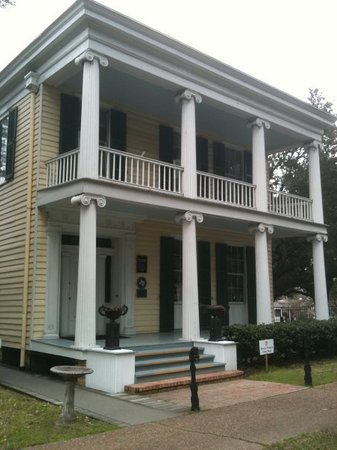 Great variety of historic houses in Houston's oldest park