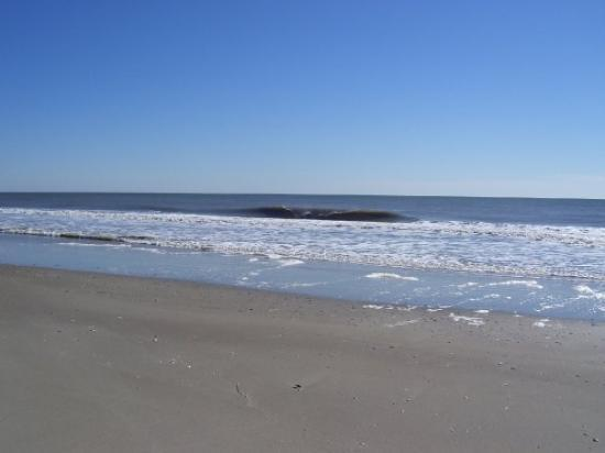 Emerald Isle, Carolina do Norte: my little walk