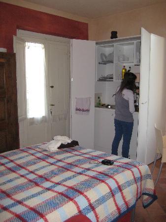 Residence Artemura : cocina