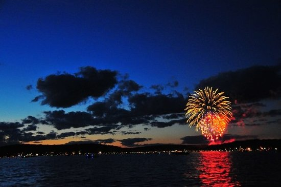 Lakeville, Pensilvanya: 4th of July at Lake Wallenpaupack