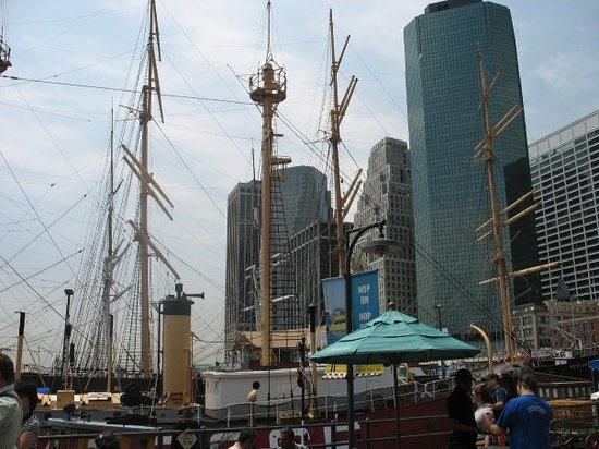 South Street Seaport Museum New York City